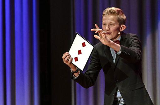 Nachwuchs-Zauberer Daniel Stöffler wird Komüka-Gewinner