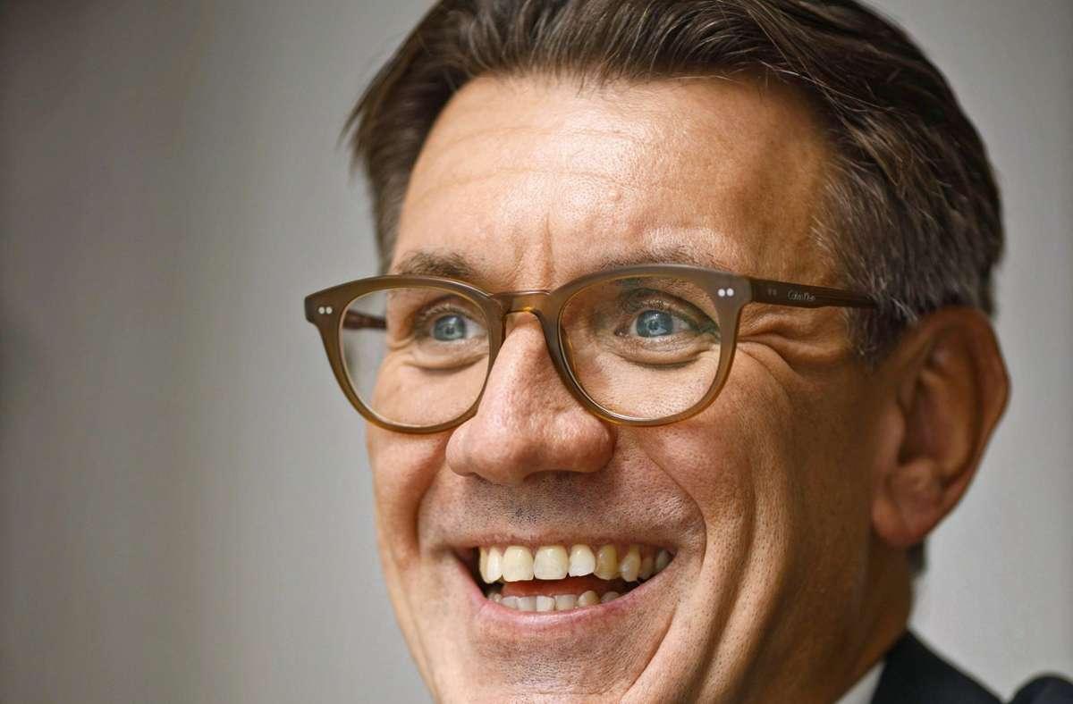 Thorsten Englert arbeitet seit elf Jahren bei der Stadt Schorndorf. Foto: Gottfried Stoppel