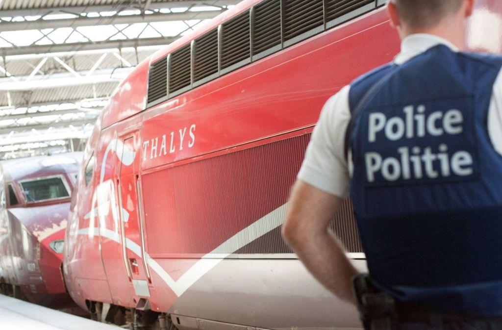 Die Angestellten und Abgeordneten der EU waren mit der Thalys unterwegs (Symbolbild). Foto: AP
