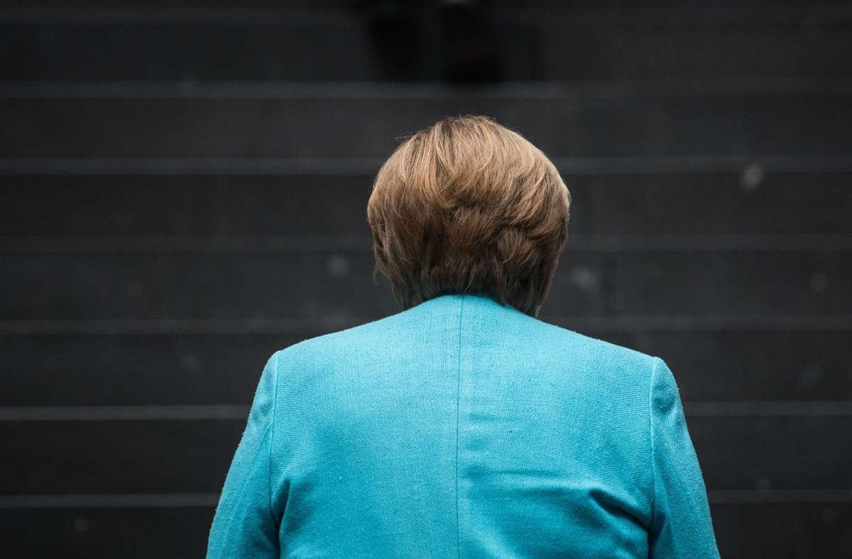 Merkel sprach von einer dynamischen Lage in der Coronakrise Foto: AFP/STEFANIE LOOS