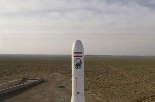 Revolutionsgarden schießen Militärsatelliten ins Weltall