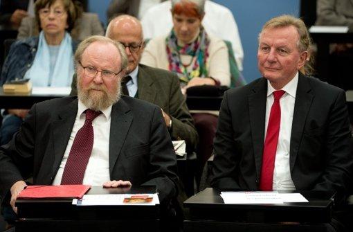 Bei einer SPD-eigenen Veranstaltung am Samstag sprach er nun doch - und betonte noch einmal, dass er nichts gegen Schwaben habe. Foto: dpa