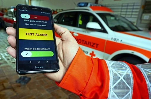 Der Alarm kommt per Smartphone
