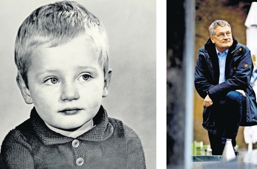 Jörg Meuthen in jungen Jahren und in der Gegenwart Foto: privat, Stoppel