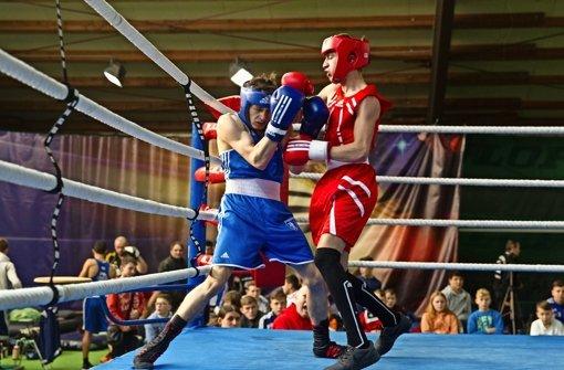Die jungen Boxer haben sich im Ring nichts geschenkt. Foto: Christian Hass