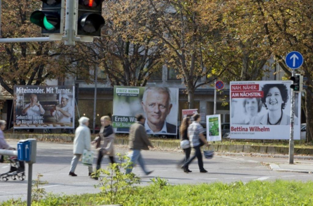 Der Wahlsonntag bringt Klarheit – auch für die OB-Kandidaten. Foto: Michael Steinert