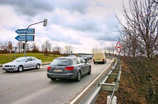 Ausbau der A8-Anschlussstelle Möhringen beginnt