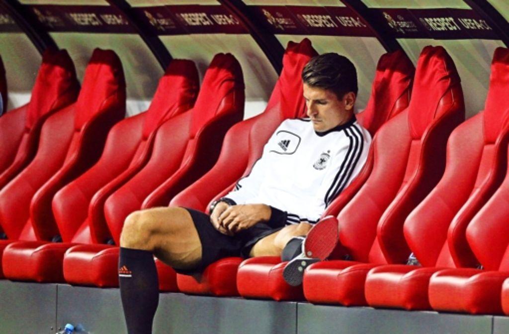 Mario Gomez fährt nicht mit zur WM nach Brasilien. Foto: dpa