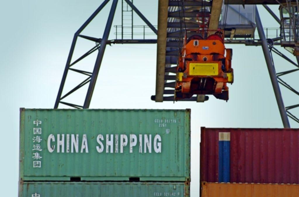 Bisher kann die EU Einfuhren aus China noch durch  Zölle verteuern. Foto: Mauritius