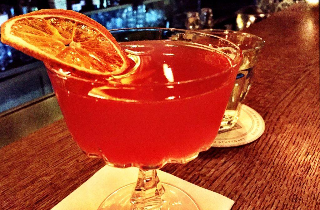 Diese süße Versuchung gibt es in der Bar Paul & George zu probieren. Foto: Lukas Jenkner