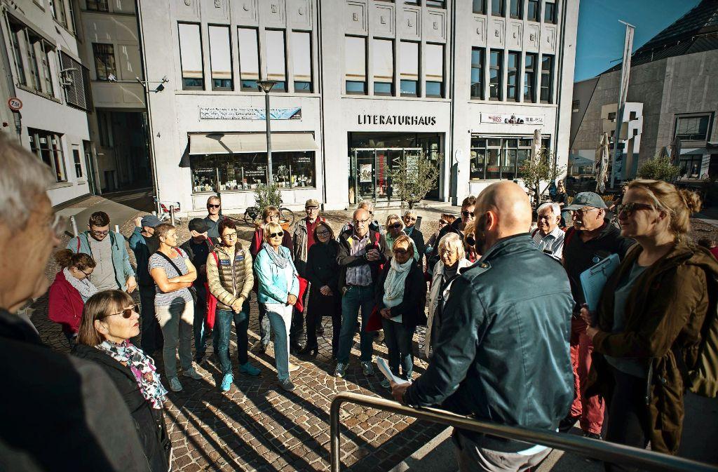 Drehort Stuttgart:  Jens Gutfleisch, der Leiter der Film Commission, erzählt. Foto: Lg/Kovalenko