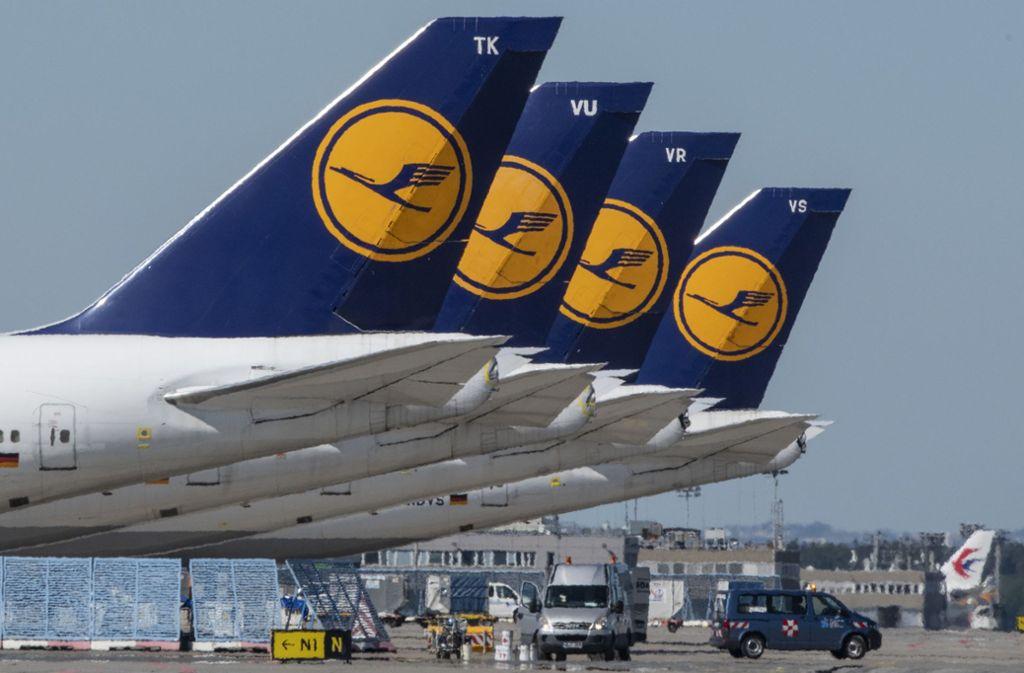 Der Bund will sich an Lufthansa beteiligen. Foto: dpa/Boris Roessler