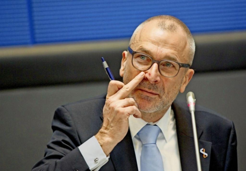 Volker Beck will sich zu dem Drogenfund bei ihm derzeit nicht äußern. Foto: