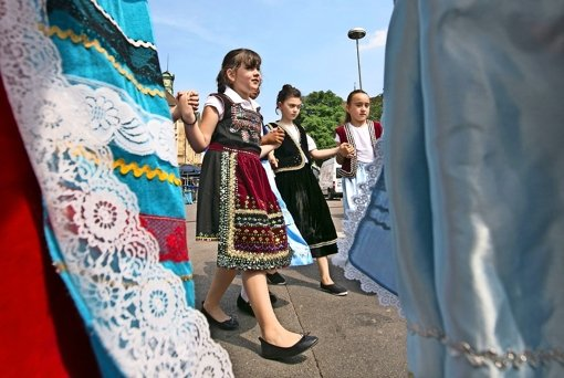 Bürgerfest leidet unter Hitze