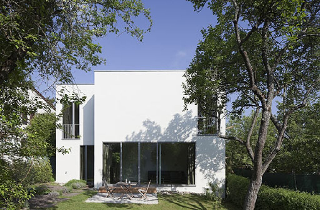 Split-Level-Haus in Stuttgart-BotnangArchitekt: Baumann ArchitectsFertiggestellt: 2009 Foto: archigraphie
