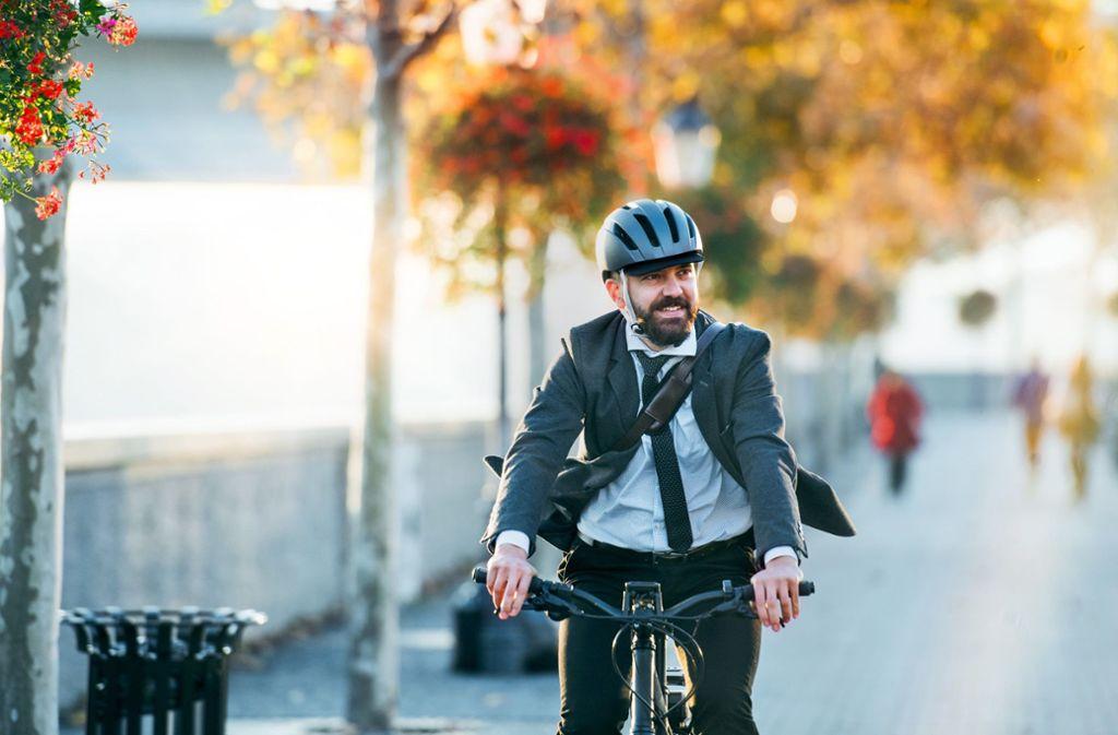 Radfahren – auch in Stuttgart gibt es da noch viel zu tun. Foto: Halfpoint/ adobe