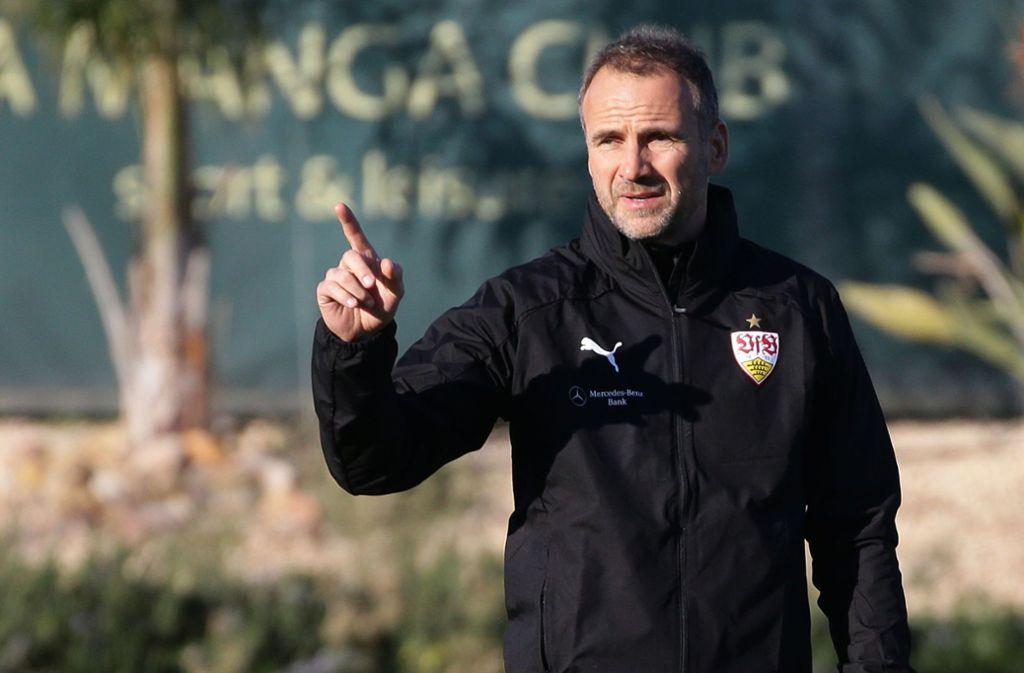 Nicht mehr für die Keeper des VfB Stuttgart zuständig: Marco Langner Foto: Baumann
