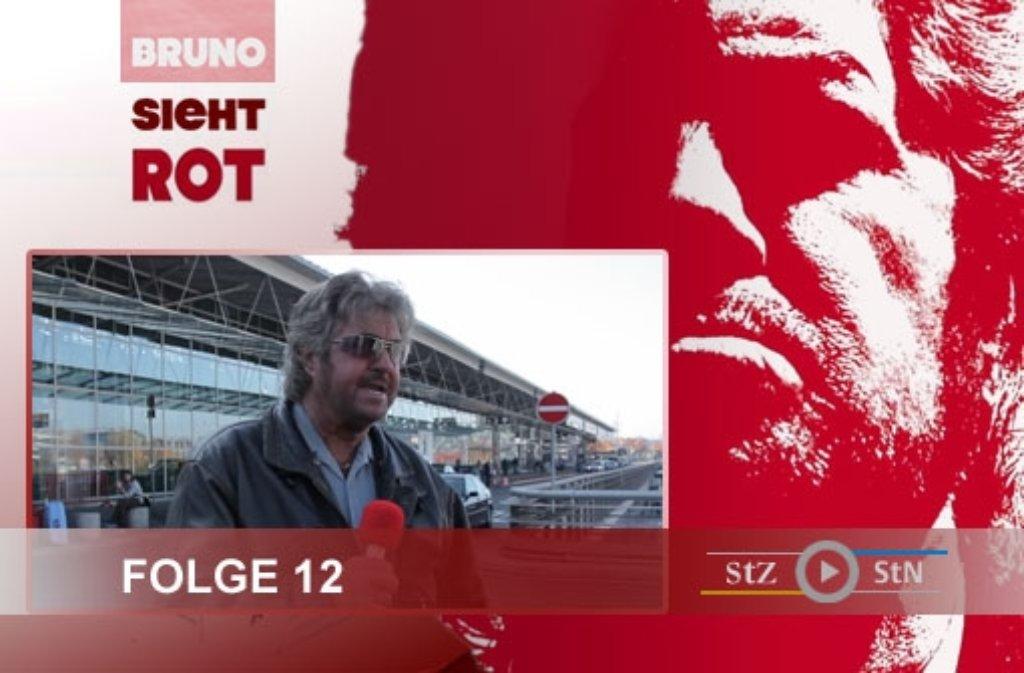 Für die zwölfte Folge von Bruno sieht rot haben wir am Flughafen Stuttgart gedreht. Foto: SIR