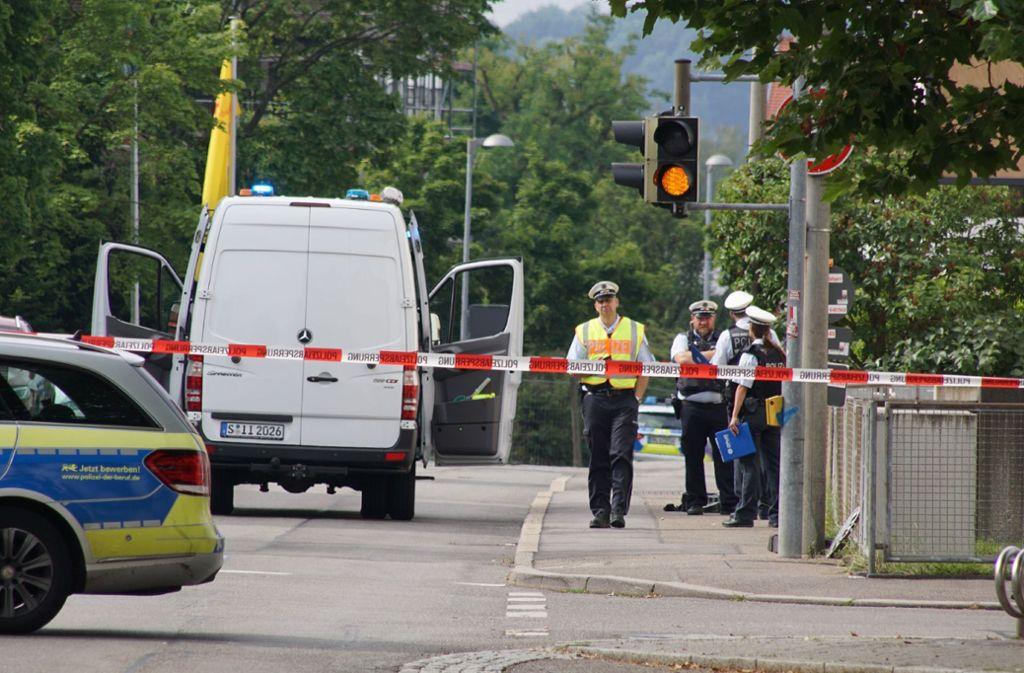 Zu einem Polizeieinsatz in Schönaich ist es am Montagmorgen gekommen. Foto: SDMG