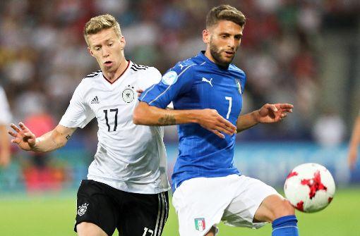 Deutschlands U21 zittert sich ins EM-Halbfinale