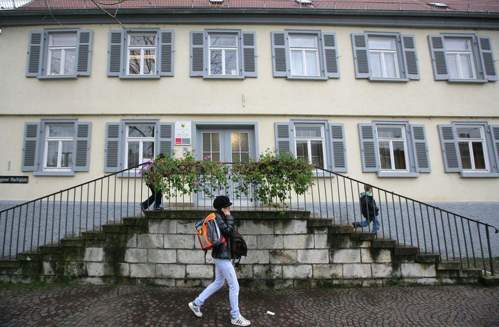 Das Bezirksrathaus am Wangener Marktplatz. (Archivbild) Foto: /Achim Zweygarth