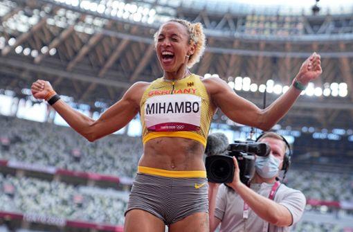 Im letzten Sprung zum Glück: Malaika Mihambo gewinnt Gold