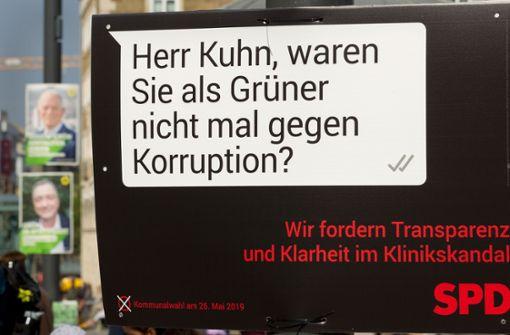 """OB Kuhn kritisiert die """"bizarren"""" SPD-Plakate"""