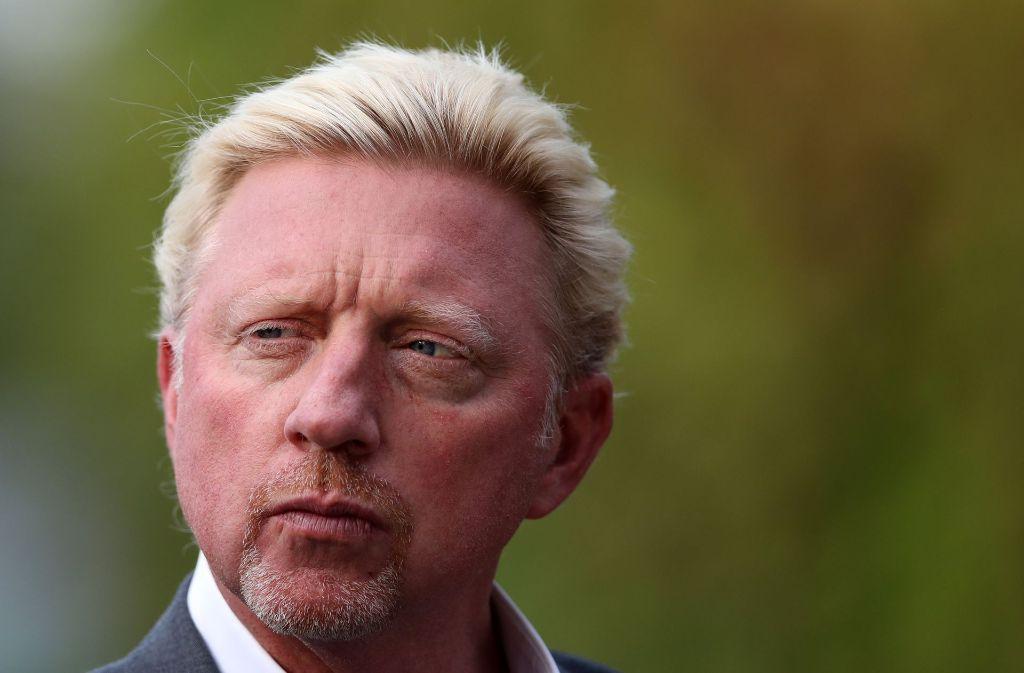 Boris Becker will sportlich wieder für Schlagzeilen sorgen. Foto: DPA