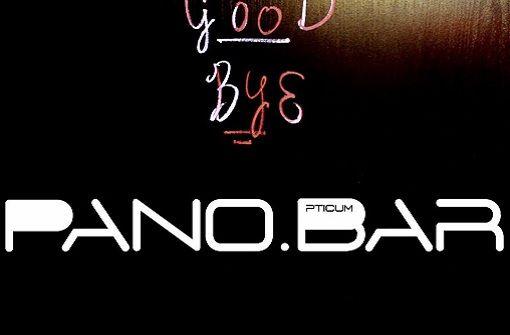 Die Pano.Bar schließt im Mai