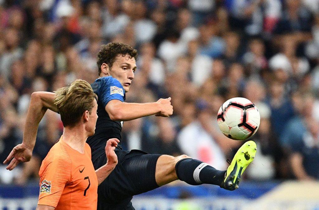 Benjamin Pavard vom VfB Stuttgart ist für die FIFA-Weltauswahl nominiert worden. Foto: AFP
