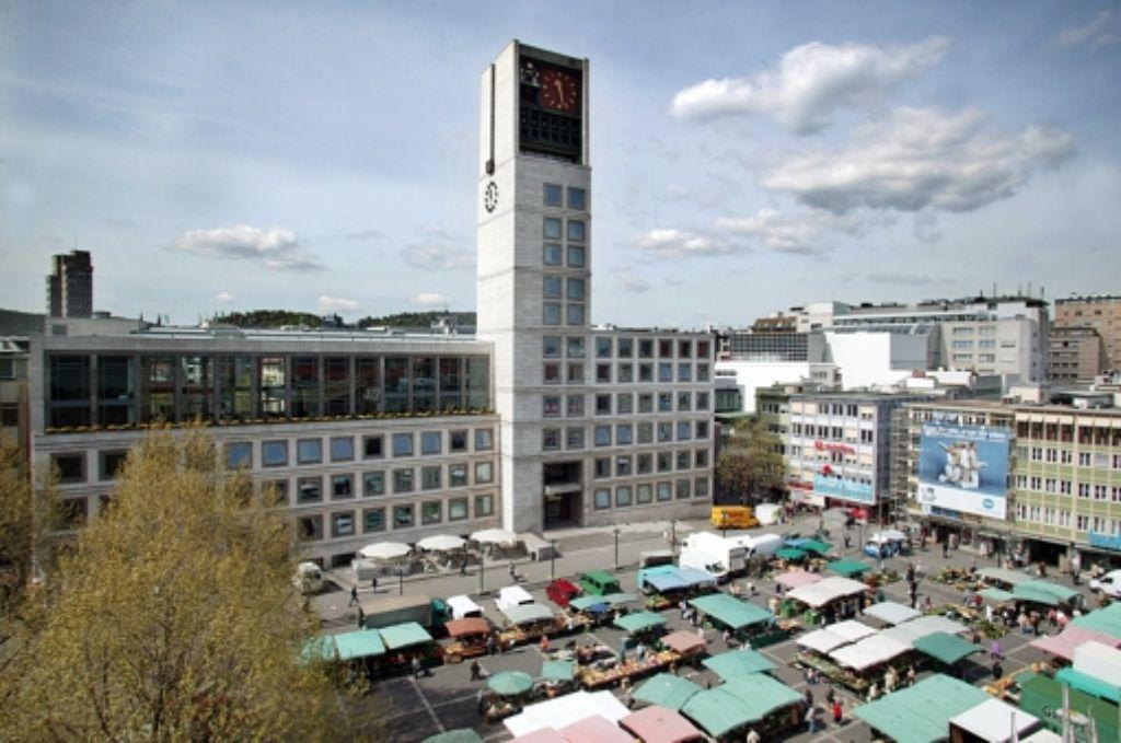 Wer wird Chef im Stuttgarter Rathaus? Foto: Zweygarth