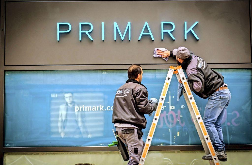 Am Dienstag um 10 Uhr öffnet die neue Primark-Filiale auf der Königstraße. Foto: Lichtgut/Achim Zweygarth