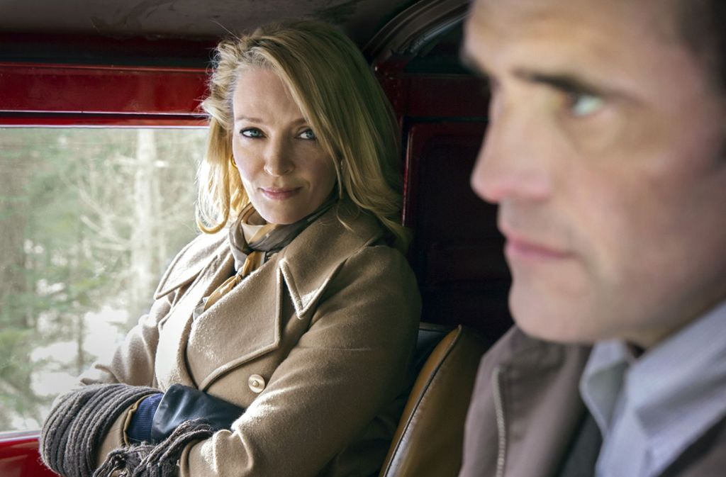 "Psychopathen sollte man nicht reizen: Uma Thurman und Matt Dillon in ""The House that Jack built"" Foto: Verleih"