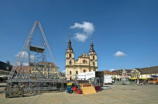 Endspurt zum großen Barockspektakel an zwei Orten
