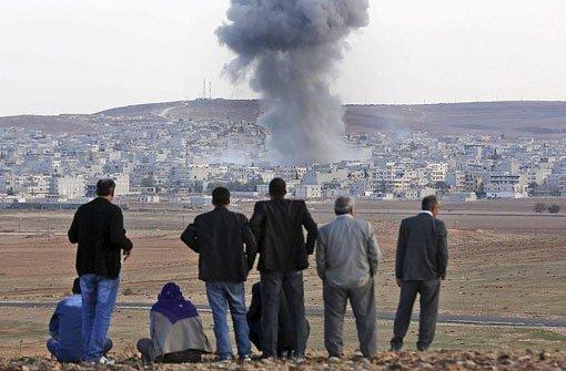 Kobane weiter heftig umkämpft