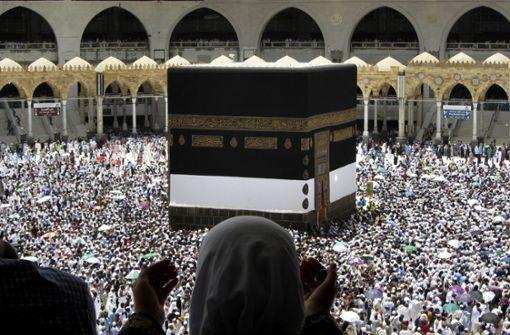 Religiöses Großereignis der Muslime in Mekka beginnt