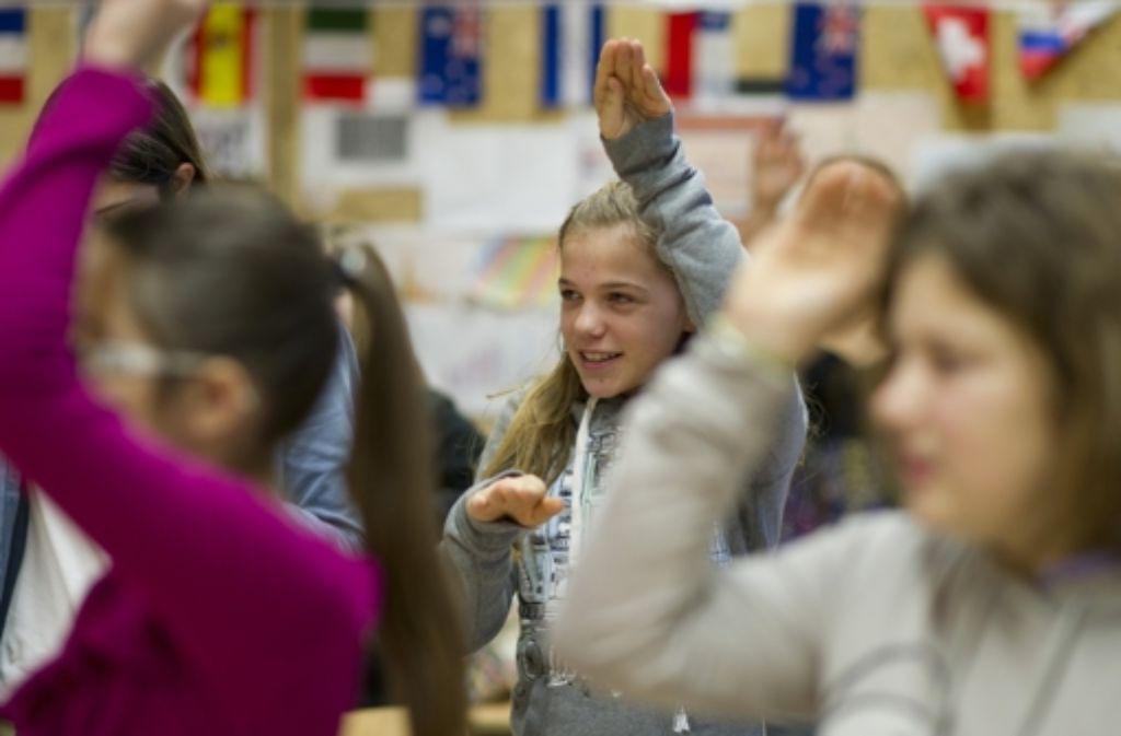 Inklusion und natürlich die Gemeinschaftsschule diskutieren die Grünen. Foto: dpa