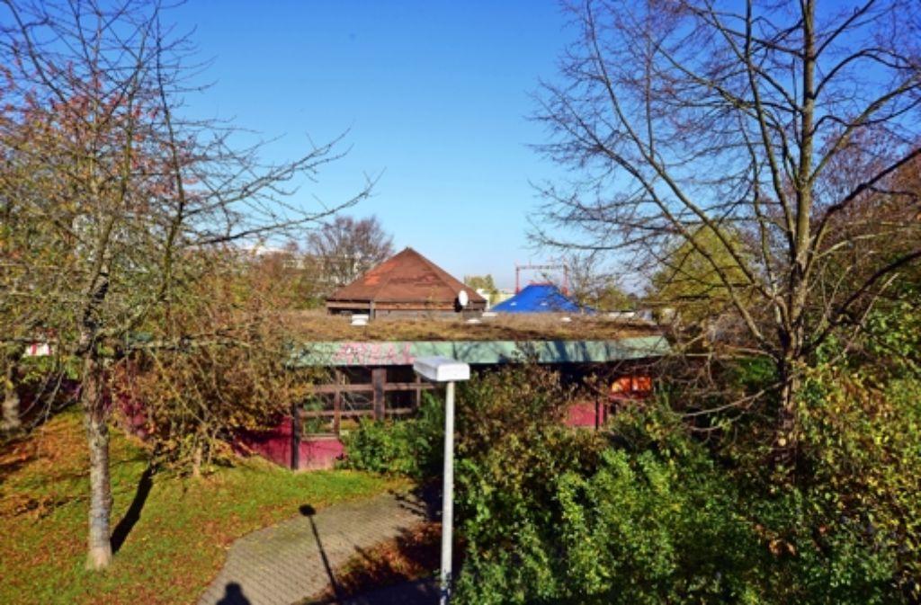 Auch das Jugendhaus Areal soll durch einen Neubau ersetzt werden. Foto: Norbert J. Leven