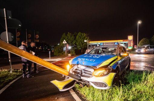 Unfall bei Einsatzfahrt in Filderstadt