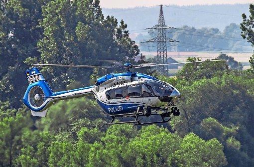 Warum der neue Polizei-Helikopter nicht landen darf