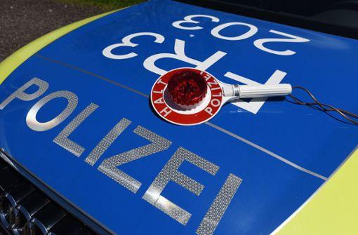 Polizei erwischt 18-Jährigen – weiterer Raser flüchtig