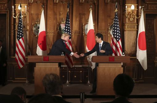 Japan soll Donald Trump nominiert haben
