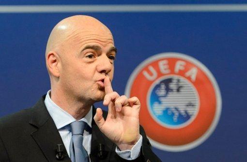 Infantino kandidiert als Fifa-Präsident
