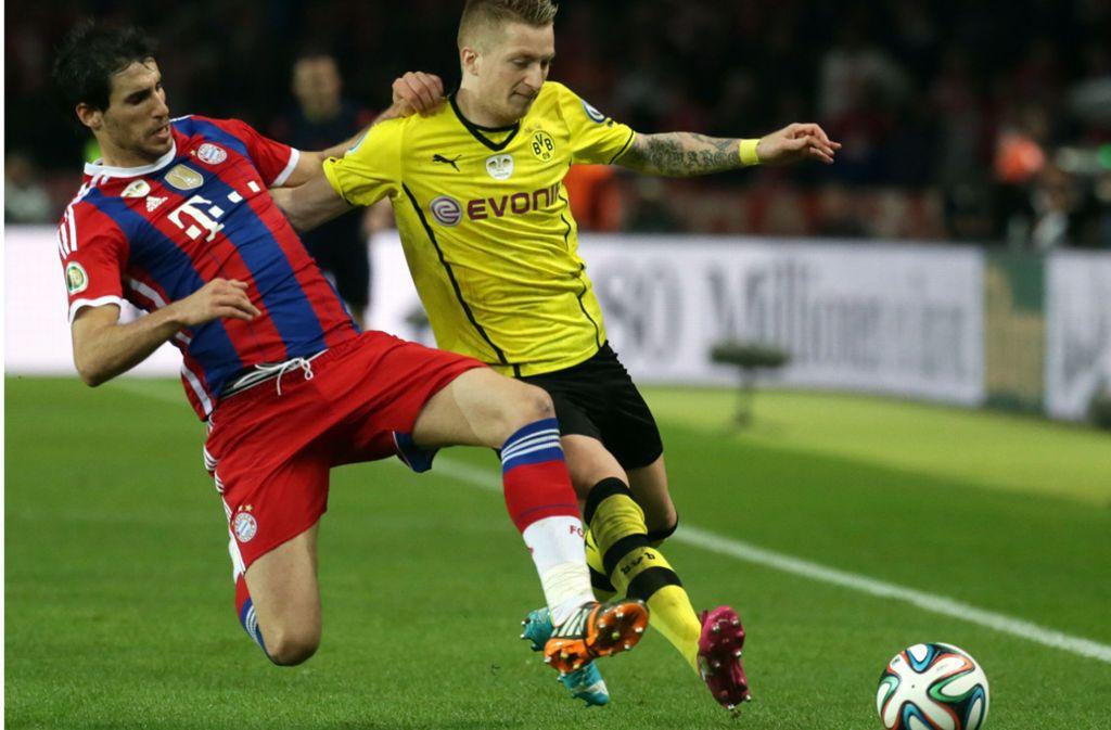 Zum sechsten Mal seit der Wiedereinführung des Supercups treffen am Samstag der FC Bayern und Borussia Dortmund aufeinander. Foto: dpa