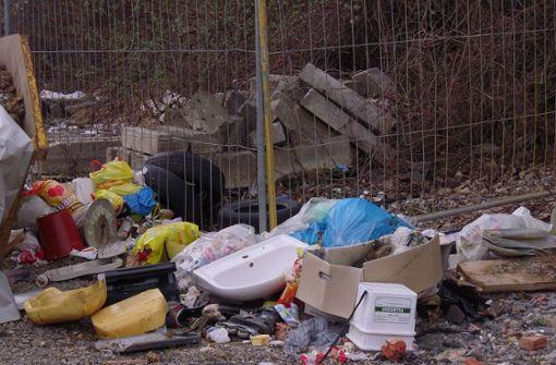 Die wilden Müllkippen werden immer größer