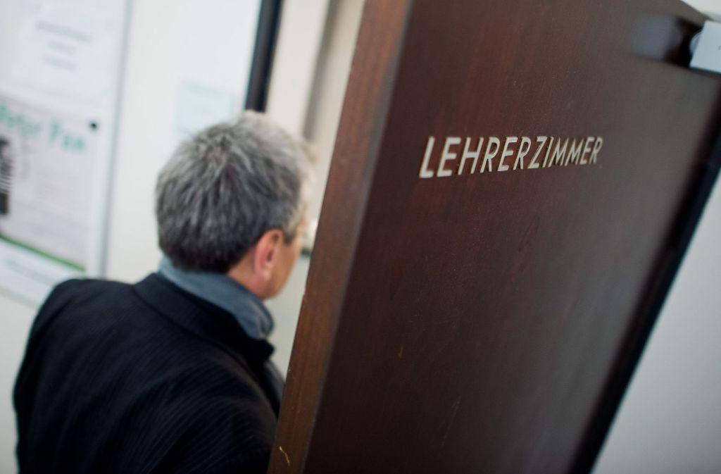In Baden-Württemberg wurde ein neuer Höchststand bei der Zahl der pensionierten Lehrern erreicht (Symbolbild). Foto: dpa