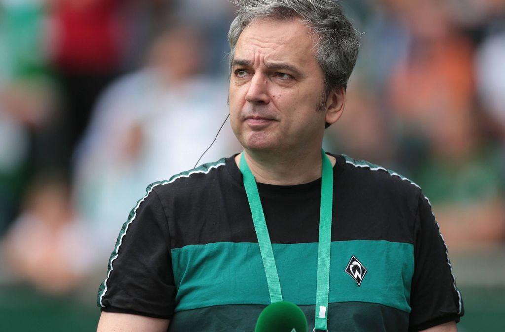 Arnd Zeigler ist seit vielen Jahren Stadionsprecher bei Werder Bremen Foto: imago images/eu-images