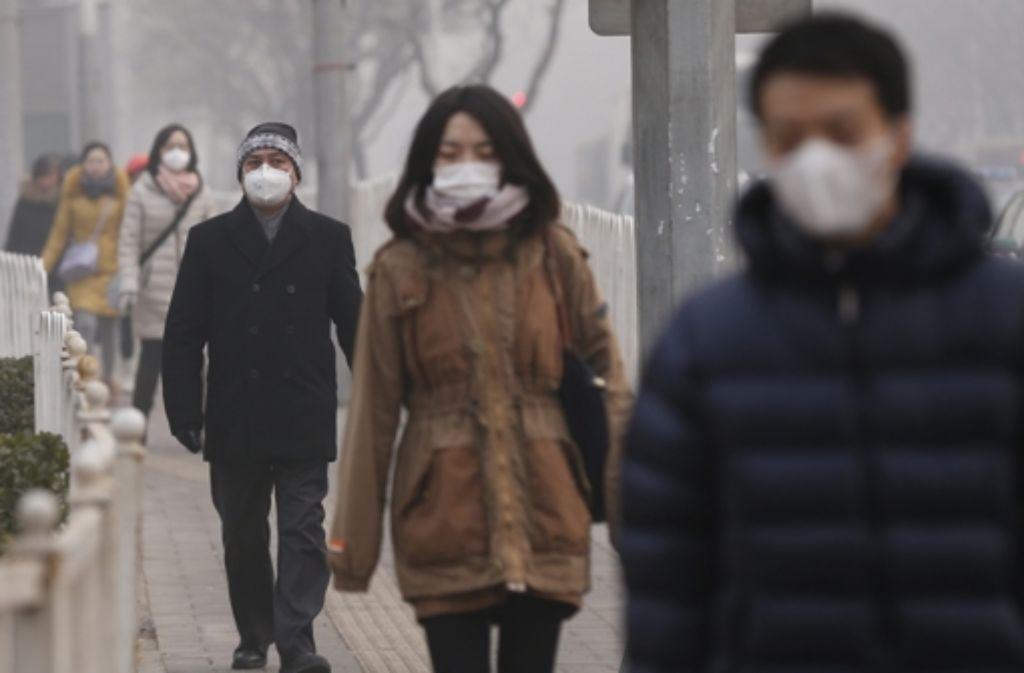 Die Umweltverschmutzung ist einer der Hauptgründe, warum sich Chinesen entscheiden, ihre Heimat zu verlassen. Foto: dpa