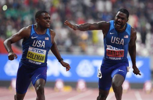 Coleman schüttelt alle Gegner über die 100 Meter  ab