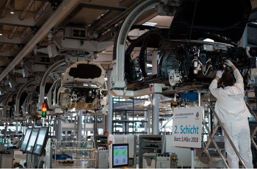 E-Mobilität kostet bis zu 110000 Auto-Jobs